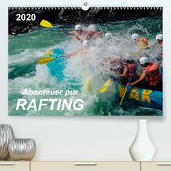 Abenteuer pur – Rafting (Premium, hochwertiger DIN A2 Wandkalender 2020, Kunstdruck in Hochglanz) von Roder,  Peter