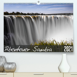 Abenteuer Sambia (Premium, hochwertiger DIN A2 Wandkalender 2021, Kunstdruck in Hochglanz) von und Stefanie Krüger,  Carsten