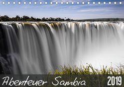 Abenteuer Sambia (Tischkalender 2019 DIN A5 quer) von und Stefanie Krüger,  Carsten