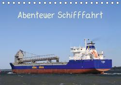 Abenteuer Schifffahrt (Tischkalender 2021 DIN A5 quer) von Brötzmann,  Susanne