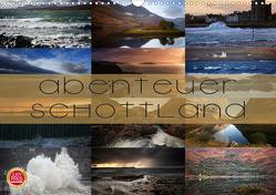 Abenteuer Schottland (Wandkalender 2021 DIN A3 quer) von Cross,  Martina