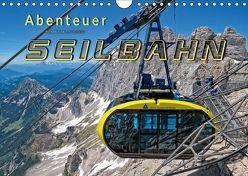 Abenteuer Seilbahn (Wandkalender 2018 DIN A4 quer) von Roder,  Peter
