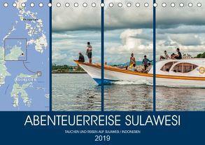 ABENTEUERREISE SULAWESI (Tischkalender 2019 DIN A5 quer) von Gödecke,  Dieter