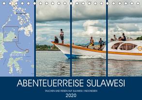 ABENTEUERREISE SULAWESI (Tischkalender 2020 DIN A5 quer) von Gödecke,  Dieter