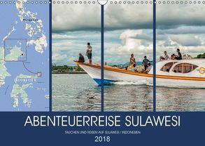 ABENTEUERREISE SULAWESI (Wandkalender 2018 DIN A3 quer) von Gödecke,  Dieter