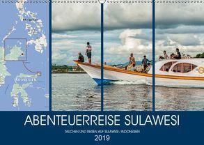 ABENTEUERREISE SULAWESI (Wandkalender 2019 DIN A2 quer) von Gödecke,  Dieter