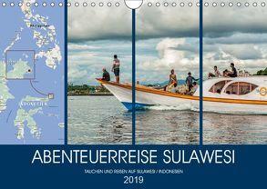 ABENTEUERREISE SULAWESI (Wandkalender 2019 DIN A4 quer) von Gödecke,  Dieter