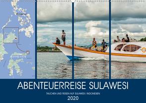 ABENTEUERREISE SULAWESI (Wandkalender 2020 DIN A2 quer) von Gödecke,  Dieter