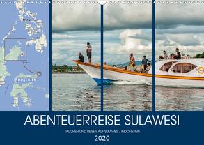 ABENTEUERREISE SULAWESI (Wandkalender 2020 DIN A3 quer) von Gödecke,  Dieter