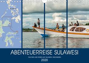 ABENTEUERREISE SULAWESI (Wandkalender 2020 DIN A4 quer) von Gödecke,  Dieter