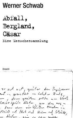 Abfall Bergland Cäsar von Orthofer,  Ingeborg, Schwab,  Werner