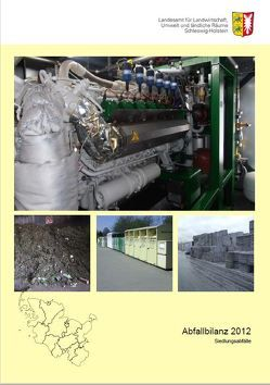Abfallbilanz 2012 von Fiedler,  Martin, Glaubitz,  Sven