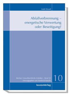 Abfallverbrennung – energetische Verwertung oder Beseitigung? von Brandt,  André, Haedrich,  Martina, Kotulla,  Michael