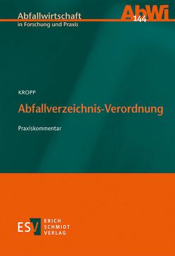 Abfallverzeichnis-Verordnung von Kropp,  Olaf