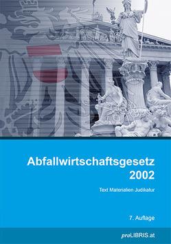 Abfallwirtschaftsgesetz 2002 von proLIBRIS VerlagsgesmbH
