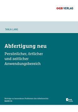 Abfertigung neu von Lang,  Tanja