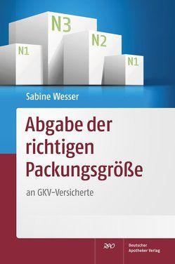 Abgabe der richtigen Packungsgröße von Wesser,  Sabine
