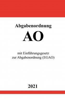 Abgabenordnung (AO) von Studier,  Ronny