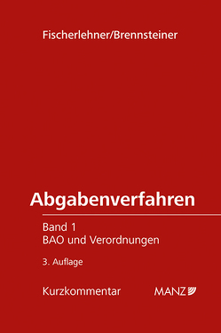 Abgabenverfahren von Brennsteiner,  Natalie, Fischerlehner,  Johann