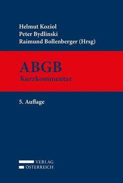 ABGB von Bollenberger,  Raimund, Bydlinski,  Peter, Koziol,  Helmut