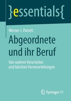 Abgeordnete und ihr Beruf von Patzelt,  Werner J.