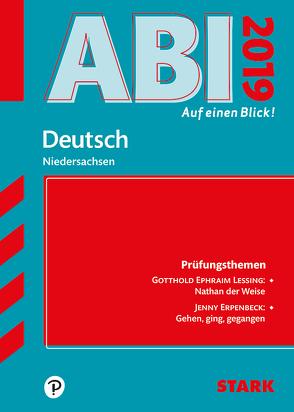 Abi – auf einen Blick! Deutsch Niedersachsen 2019