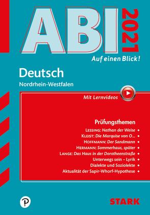 STARK Abi – auf einen Blick! Deutsch NRW 2021