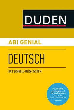 Abi genial Deutsch von Bornemann,  Michael, Bornemann,  Monika, Schlitt,  Christine