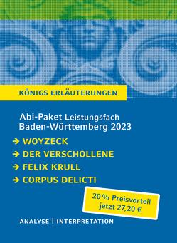 Abi-Paket Baden-Württemberg 2023 Deutsch Leistungskurs von Büchner,  Georg, Kafka,  Franz, Mann,  Thomas, Zeh,  Juli