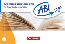 Abi to go – Deutsch / Formulierungshilfen von Krämer-Curtis,  Daniela
