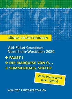 Abitur-Paket Nordrhein-Westfalen 2020. Deutsch Grundkurs – Königs Erläuterungen: von Goethe,  Johann Wolfgang von, Hermann,  Judith, Kleist,  Heinrch von