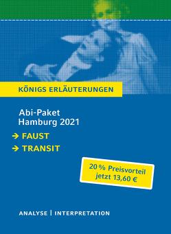 Abitur Deutsch Hamburg 2021 – Königs Erläuterungen-Paket von Goethe,  Johann Wolfgang von, Seghers,  Anna