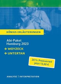 Abitur Deutsch Hamburg 2023 – Königs-Erläuterungen-Paket von Büchner,  Georg, Mann,  Heinrich