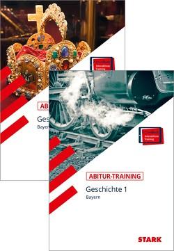 STARK Abitur-Training – Geschichte Band 1 + 2 – Bayern von Ehrenpreis,  Petronilla, Freyberger,  Bert, Müller,  Heinrich, Werner,  Johannes