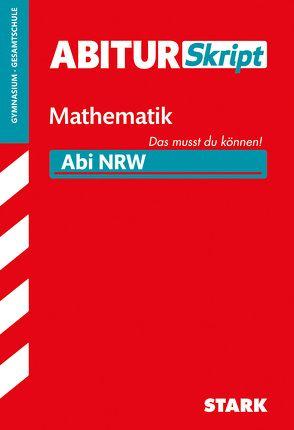 AbiturSkript – Mathematik – NRW