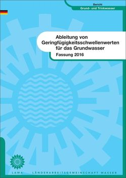 Ableitung von Geringfügigkeitsschwellenwerten für das Grundwasser