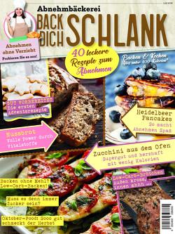 Abnehmbäckerei: BACK DICH SCHLANK von Buss,  Oliver