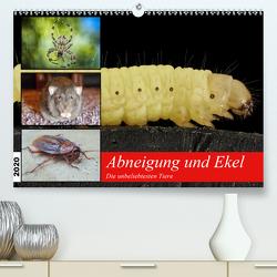 Abneigung und Ekel. Die unbeliebtesten Tiere (Premium, hochwertiger DIN A2 Wandkalender 2020, Kunstdruck in Hochglanz) von Hurley,  Rose