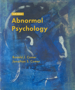 Abnormal Psychology von Comer,  Ronald J