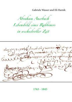 Abraham Auerbach von Harnik,  Eli, Wasser,  Gabriele