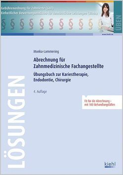 Abrechnung für Zahnmedizinische Fachangestellte – Lösungsteil (PDF-Ausgabe) von Monka-Lammering,  Sabine