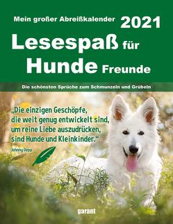 Abreißkalender Hundefreunde 2021