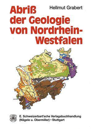 Abriss der Geologie von Nordrhein-Westfalen von Grabert,  Hellmut