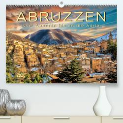 Abruzzen, vom Apennin bis an die Adria (Premium, hochwertiger DIN A2 Wandkalender 2020, Kunstdruck in Hochglanz) von Roder,  Peter