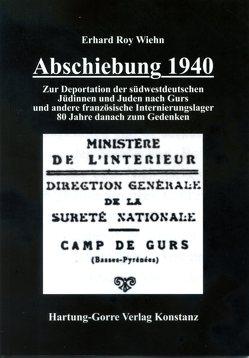 Abschiebung 1940 von Wiehn,  Erhard Roy