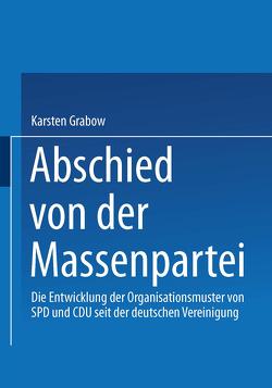 Abschied von der Massenpartei von Grabow,  Karsten
