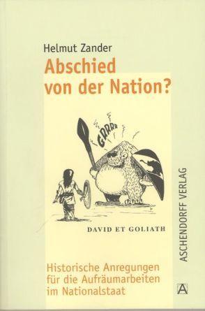 Abschied von der Nation? von Zander,  Helmut