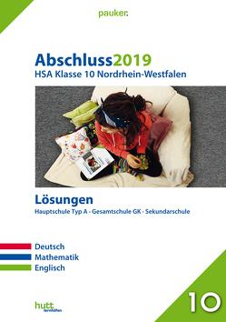 Abschluss 2019 – Hauptschulabschluss Klasse 10 Nordrhein-Westfalen Lösungen