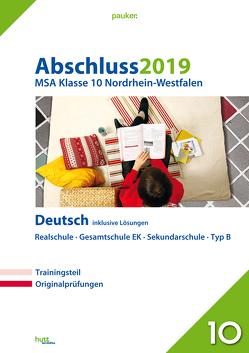 Abschluss 2019 – Mittlerer Schulabschluss Nordrhein-Westfalen Deutsch
