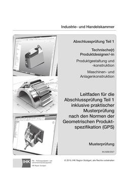 Abschlussprüfung Teil 1 Technischer Produktdesigner/-in ISO-GPS (2326 & 2327)